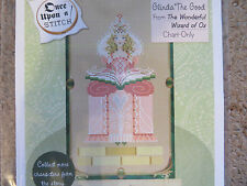 15% Off Brooke's Books X-Stitch The Wizard of Oz chart-Glinda The Good