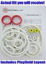 1974 Williams Skylab Pinball Machine Rubber Ring Kit - aka Sky Lab