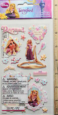 NEW -  DISNEYS ~ Tangled - Rapunzel Puffy Stickers ~  FREE SHIPPING