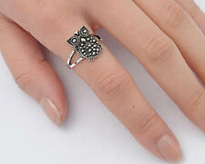 USA Seller Owl Ring Sterling Silver 925 Best Deal Plain Jewelry Size 12