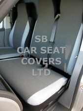 TO FIT A TOYOTA PROACE VAN, DIESEL, SEAT COVERS, ROSSINI 154 FABRIC + GREY S+D