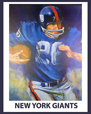 New York Giants 1960's Artistic Poster - 8x10 Color Photo