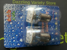 2 x RED BAY15d 380 1157 24 LED Tail Brake Rear Stop Light Bulb Auto Lamp UK