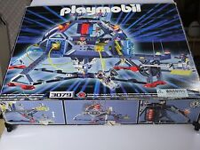 Playmobil Space Station Space Commander Base 3079 1999 Exc. in box instructions
