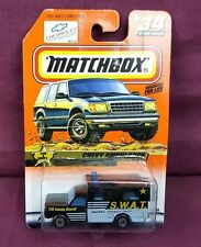 Matchbox   #34  SWAT Chevy Ambulance