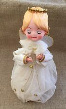 Vintage Jestia Angel Figurine Christmas Tree Topper