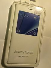 Samsung Galaxy Note 5 S View Cover in White EF-CN920PWEGWW. Brand New Original.