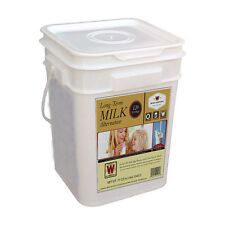 120 SERVING Powder Milk Wise Freeze Dried Emergency Survival Food Supply Bucket