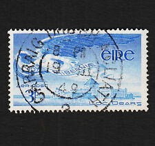 1948 Ireland 3p Airmail Sc#C2 Used Sound VF Bullseye Cancel