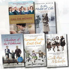 Jennifer Worth 5 Books Collection Set,Call The Midwife,In the Midst of Life, New