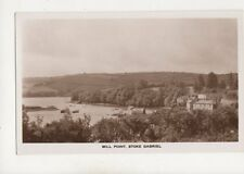 Mill Point Stoke Gabriel Devon Vintage RP Postcard 333b