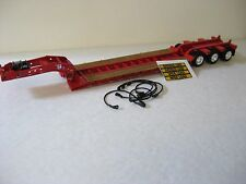 Red Fontaine Lowboy Trailer  Diecast Promotions 1/64th Scale  DCP