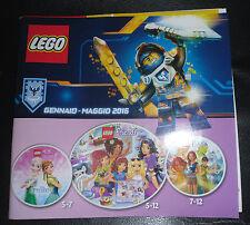 Catalogo LEGO ITA Gennaio Maggio 2016 - Italian Catalog January / May 2016