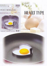 Stainless Steel Heart Shape Cooking Egg Mold #7244