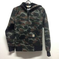 Carhartt WIP Car Lux Creek Camo Hoodie Size Medium