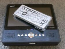 "Coby TF-DVD7050 Portable 7"" Tablet-Style DVD Player/Remote Control No AC Adapter"