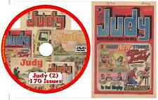 Judy Comics Collection (UK)  170 issues in .cbr format ON DVD (No2)