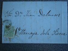 CARTA AÑO 1873 CALATAYUD A VILLARROYA DE LA SIERRA EDIFIL 133