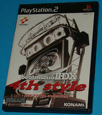 Beatmania 2DX 4th Style - Sony Playstation 2 PS2 Japan - JAP
