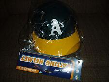OAKLAND A'S Athletics Full Size Souvenir Batting helmet new