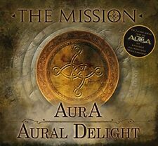THE MISSION - AURA/AURAL DELIGHT 2 CD NEW+