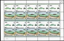 1952 HUDSON HORNET Car 20-Stamp Sheet / Auto 100 Leaders of the World