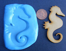 Sea Horse Silicone Mould, Mold, Sugarcraft, Jewellery, Card Topper Food Safe
