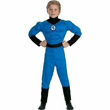 Mr. Fantastic Muscle Chest Deluxe Kids Costume - Size ( Small 4-6 ) 5246