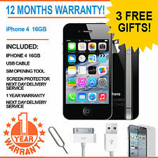 Apple iPhone 4 - 16 GB - Black (Unlocked) Smartphone