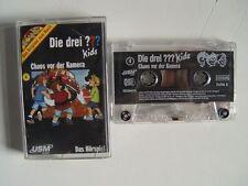 DIE DREI ??? KIDS - 4 Chaos vor der Kamera - MC Kassette USM Audio Die Drei ???