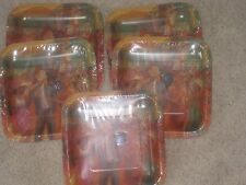5-Kentucky Derby Party Supplies 7in. Plates (New In Packs)