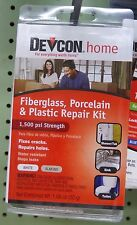 DEVCON RV, Travel Trailer & Home BATH TUB EPOXY REPAIR KIT 1459908
