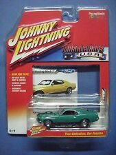 JOHNNY LIGHNING MUSCLE CARS U.S.A. #6B 1970 FORD MUSTANG MACH 1 (GREEN)