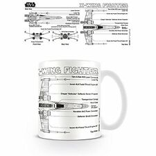 Star Wars - X Wing Fighter Sketch Ceramic Mug Tasse PYRAMID POSTERS