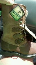 New Ariat babyfat summit boots soft choco leather womens size 6