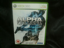 Alpha Protocol: The Espionage RPG, Xbox 360 Game, Trusted Ebay Shop