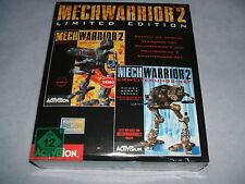MECHWARRIOR 2 II Limited Edition  PC DOS  deutsch  eingeschweisst  USK 12