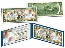 PRINCE GEORGE & PRINCESS CHARLOTTE of Cambridge US $2 Bill - Official Portraits