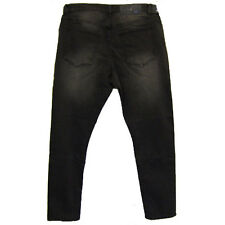Cheap Monday cayó Denim Base Gris Talla W32 L32