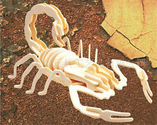 New Wood Assembly DIY toy for 3D wooden model puzzles of Animals Scorpion