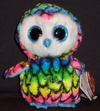 "TY BEANIE BOOS BOO'S - ARIA the 6"" OWL - CLAIRE'S EXCLUSIVE - MINT with MINT TAG"