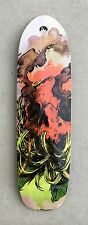 Old school Pool skateboard shape Graphic 7 ply Canadian maple gripped RED SKULL