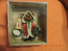 Collectible Holly Bearies Bear Merry Christmas Ornament  Kurt S. Adler lantern