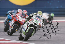 Hector Barbera Hand Signed Avintia Racing 12x8 Photo MotoGP 2014.