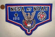 OA NESA NATL EAGLE SCOUT PATCH NOAC 2015 100TH ANN BLUE CHENILLE FLAP 250 MADE