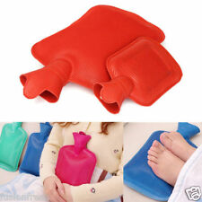 2 PIECES Medium Rubber Bottle Cold Hot Water Bag Body Heat Massage Pain Relaxing