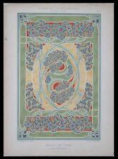 TAPIS, BONVALLET -1901- LITHOGRAPHIE, ART NOUVEAU