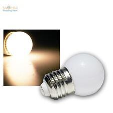 LED-Tropfenlampe E27 warmweiß mit 9 SMD LEDs Leuchtmittel Birne für Lichterkette