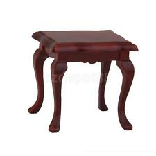 Handmade Wooden Furniture 1/12 Stool for Barbie Dollhouse Living Room Coffee