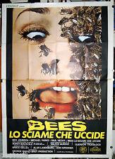 manifesto 4F orig. BEES LO SCIAME CHE UCCIDE Gretchen Corbett Bruce Geller 1978